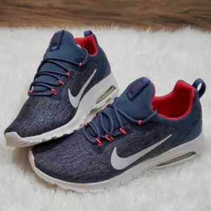 New Nike Air Max Motion Blue Sneakers